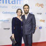 Elena Rivera y Ricardo Gómez en el preestreno de la temporada 19 de 'Cuéntame cómo pasó'