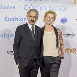 Imanol Arias y Ana Duato en el preestreno de la temporada 19 de 'Cuéntame cómo pasó'