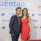 Pablo Rivero y Paloma Bloyd en el preestreno de la temporada 19 de ' Cuéntame cómo pasó'