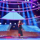 Pepa Aniorte imita a Tamara en la gala 15 de 'Tu cara me suena'