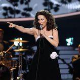 Diana Navarro es Marifé de Triana en la gala 15 de 'Tu cara me suena'