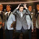 Miquel Fernández es Elvis Presley en la gala 15 de 'Tu cara me suena'