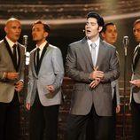 """Miquel Fernández canta """"Love me"""" como Elvis Presley en la gala 15 de 'Tu cara me suena'"""