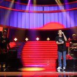 Adam Jezierski se pone al frente de El Canto del Loco en la gala 15 'Tu cara me suena'