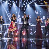 """Los finalistas cantan """"Camina"""" en la Gala de Eurovisión de 'OT 2017'"""