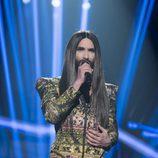"Conchita Wurst canta ""Rise Like a Phoenix"" en la Gala de Eurovisión de 'OT 2017'"