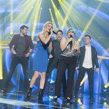 "Los exconcursantes cantan ""Vivo cantando"" en la Gala de Eurovisión de 'OT 2017'"