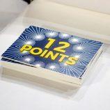 Carteles de 12 puntos en la Gala de Eurovisión de 'Tu cara me suena'