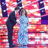 Lolita en la Gala de Eurovisión de 'Tu cara me suena'