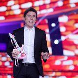 Manel Fuentes en la Gala de Eurovisión de 'Tu cara me suena'