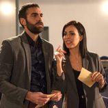 Jon Plazaola y Nerea Garmendia en la cuarta temporada de 'Allí Abajo'