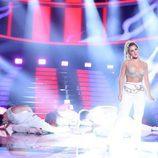 """Lucía Gil interpreta """"Dime"""" de Beth en la gala de Eurovisión de 'Tu cara me suena'"""