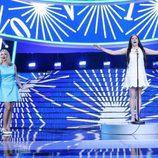 """La terremoto de Alcorcón imita a Massiel con su canción """"La, la, la"""" en la gala de Eurovisión de 'Tu cara me suena'"""