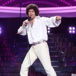 """David Amor interpreta """"A-ba-ni-bi"""", de Izhar Cohen, en la gala de Eurovisión de 'Tu cara me suena'"""