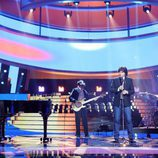 """Raúl Pérez canta """"Bailar Pegados"""" de Sergio Dalma en la gala de Eurovisión de 'Tu cara me suena'"""