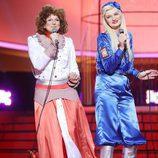 Lucía Jiménez es ABBA en la gala de Eurovisión de 'Tu cara me suena'