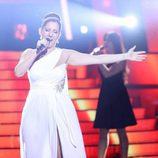 Diana Navarro es Pastora Soler en la gala de Eurovision de 'Tu cara me suena'