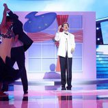 Miquel Fernández es Domenico Modugno en la gala de Eurovisión de 'Tu cara me suena'