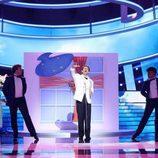 """Miquel Fernández canta """"Nel blu dipinto di blu"""" de Domenico Modugno en la gala de Eurovisión de 'Tu cara me suena'"""