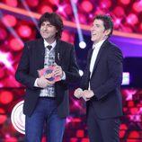 Raúl Pérez, ganador de la gala de Eurovisión de 'Tu cara me suena'