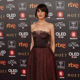 Belén Cuesta posa en la alfombra roja de los Premios Goya 2018