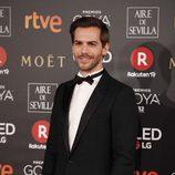 Marc Clotet posa en la alfombra roja de los Premios Goya 2018