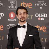 Ferrán Vilajosana posa en la alfombra roja de los Premios Goya 2018