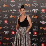 Belén López posa en la alfombra roja de los Premios Goya 2018
