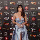 María Botto posa en la alfombra roja de los Premios Goya 2018