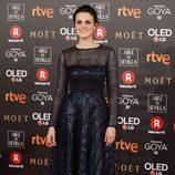 Melina Matthews posa en la alfombra roja de los Premios Goya 2018