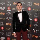 Paco León en la alfombra roja de los Goya 2018