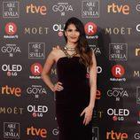 Sara Sálamo posa en la alfombra roja de los Premios Goya 2018