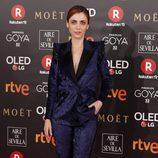 Leticia Dolera posa en la alfombra roja de los Premios Goya 2018
