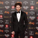 Álvaro Cervantes en los Premios Goya 2018