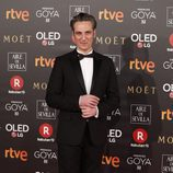Ernesto Alterio en la alfombra roja en los Premios Goya 2018