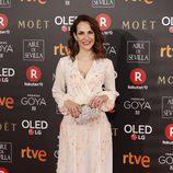 Paula Ortiz posa en la alfombra roja de los Premios Goya 2018