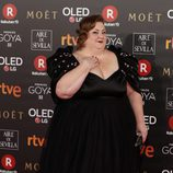 Itziar Castro posa en la alfombra roja de los Premios Goya 2018