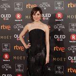 Nathalie Poza posa en la alfombra roja de los Premios Goya 2018