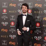 Santiago Alverú en los Premios Goya 2018