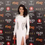 Penélope Cruz posa en la alfombra roja de los Premios Goya 2018