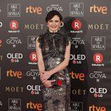 Emily Mortimer posa en la alfombra roja de los Premios Goya 2018