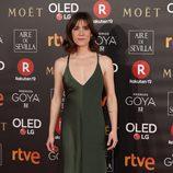 Bruna Cusi posa en la alfombra roja de los Premios Goya 2018