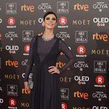 Maribel Verdú posa en la alfombra roja de los Premios Goya 2018