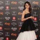 Goya Toledo posa en la alfombra roja de los Premios Goya 2018