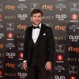 Antonio de la Torre posa en la alfombra roja de los Premios Goya 2018