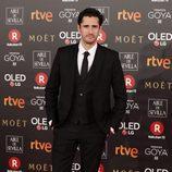 Juan Diego Botto posa en la alfombra roja de los Premios Goya 2018