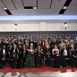 Foto de familia de los Premios Goya 2018
