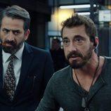 Ismael Martínez y Antonio Garrido en 'Cuerpo de élite'
