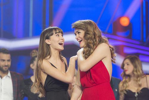 Aitana y Amaia, finalistas de 'OT 2017' a punto de conocer a la ganadora