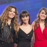 Amaia, Aitana y Miriam, finalista de 'OT 2017'